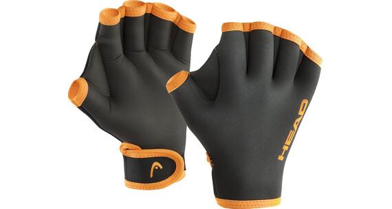 Head Swim Gloves oranje/zwart